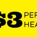 $3 Per Head at PayPerHead.com
