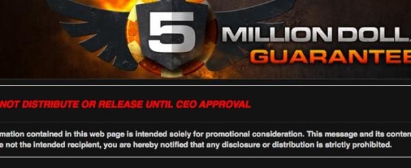 World Exclusive: ACR Giving Away $5 Million Guaranteed