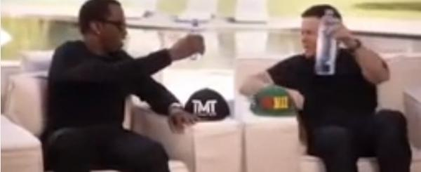 Diddy and Mark Wahlberg Place $250K Bet on Mayweather-Pacquiao Fight
