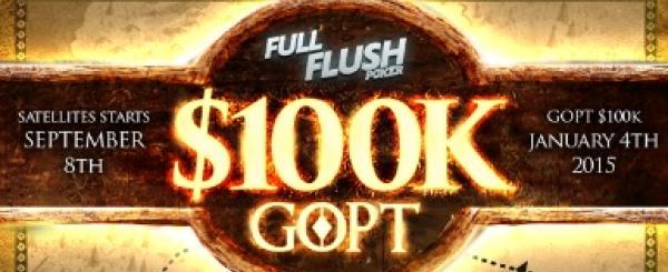Full Flush Poker's Game of Poker Thrones Quest for $100,000 GTD