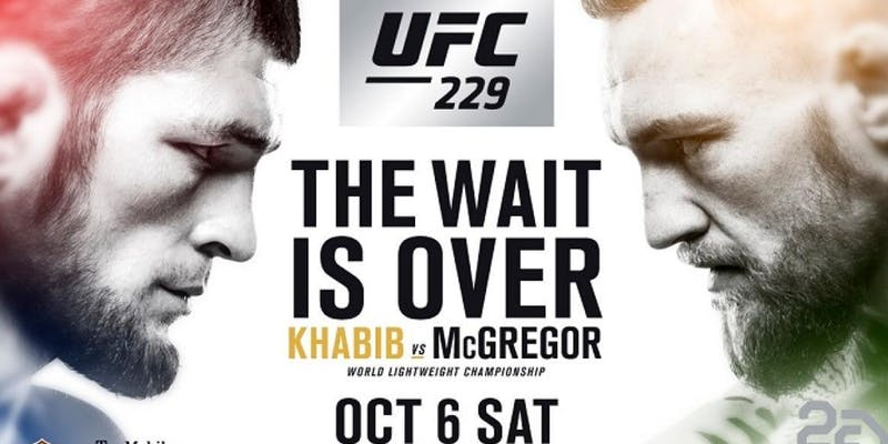 Where Can I Watch, Bet the Khabib vs. McGregor Fight - UFC 229 - Indianapolis, Evansville