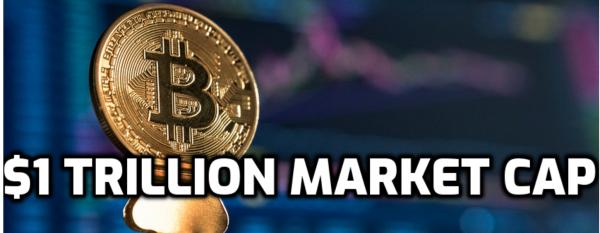 Bitcoin Flirting WIth $54K: Hits $1 Trillion Market Cap