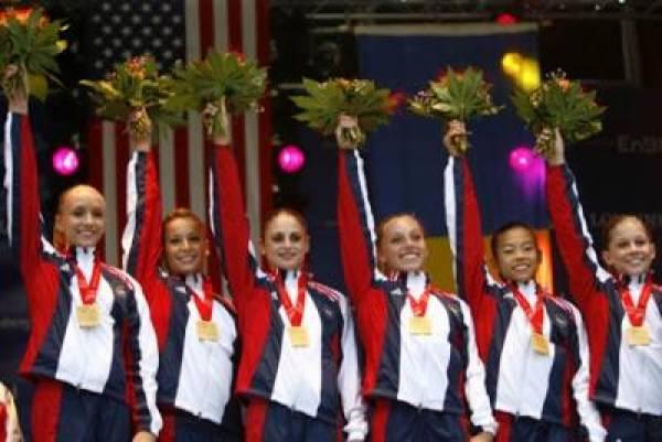 2008 Olympics Women Gymnastics USA