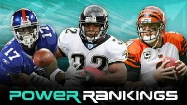 2009 NFL Week 3 Power Rankings