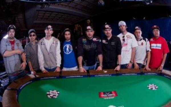 2010 World Series of Poker Final Table
