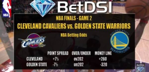 2015 NBA Finals, Stanley Cup Finals Game 2 Betting Lines