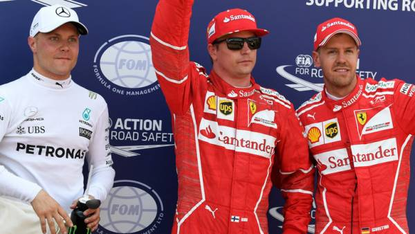 Kimi Raikkonen Odds to Win 2017 Monaco Grand Prix Drift 35 Percent