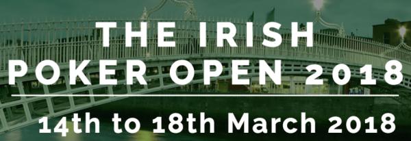 2018 Irish Poker Open Schedule Released
