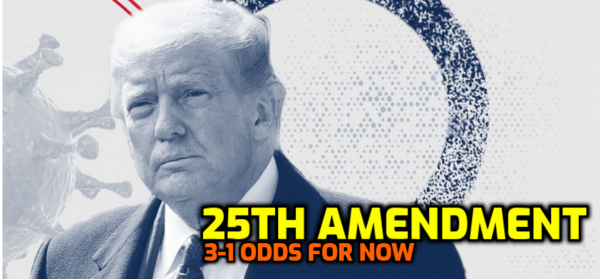 Trump Odds: Will there be a 25th Amendment Vote in Congress?