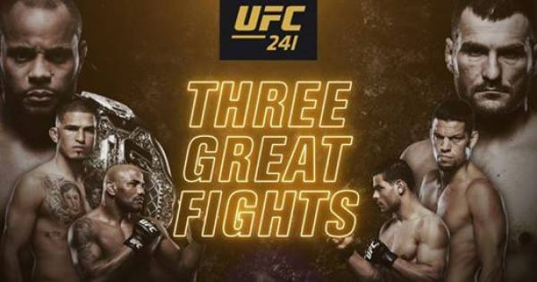 Where Can I Watch, Bet The Cormier vs Miocic Fight - UFC 241 - Buffalo