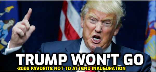 Trump Will Hold a Rally Instead of Attending Inauguration, According to the Odds