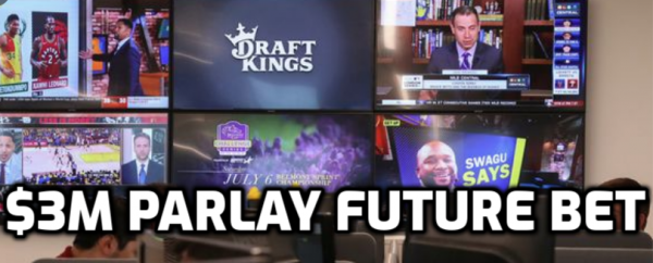 Draftkings Takes $3M Football Futures Parlay