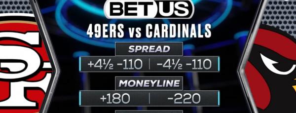 Free NFL Picks October 10 - 49ers vs. Cardinals