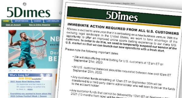 5Dimes Offering Transfers to BetAnyThing