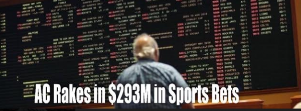Atlantic City Rakes in $293M in Sport Bets