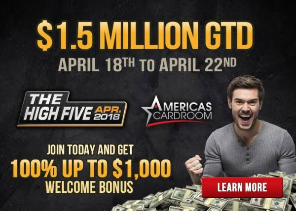 ACR Set to Host Another High Five Tournament Series April 18th-22nd