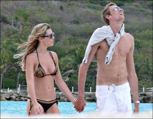 Abbey Clancy & Peter Crouch