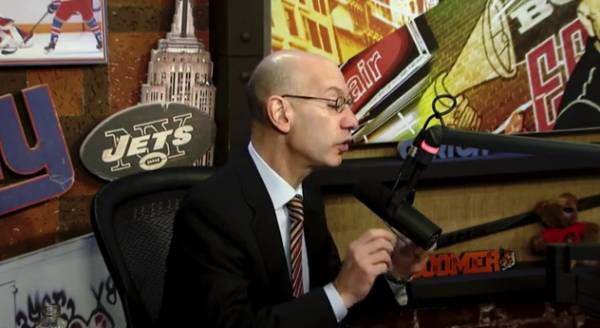 Adam Silver on Gambling and the NBA: 'Good for Business'