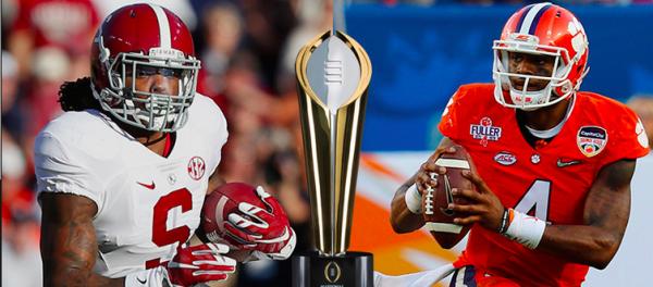Spread on Alabama-Clemson Title Game Still 5.5