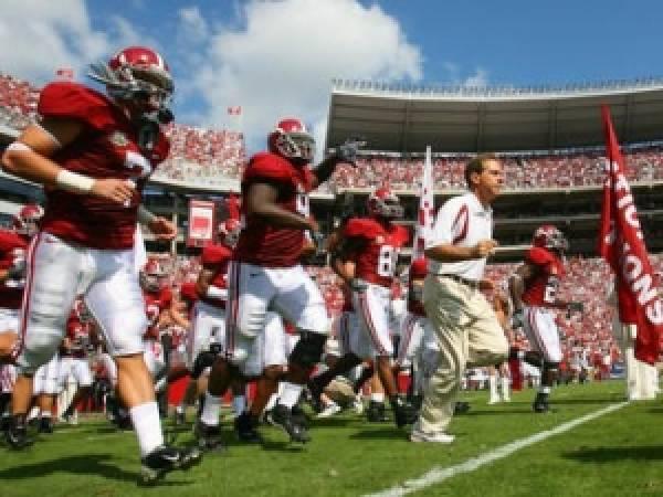 Alabama vs. Tennessee Spread