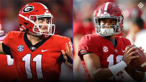 2018 SEC Championship Betting Odds: Alabama vs. Georgia