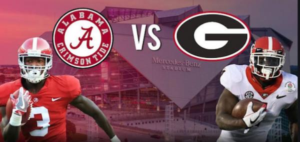 CFB Betting – Georgia Bulldogs at Alabama Crimson Tide