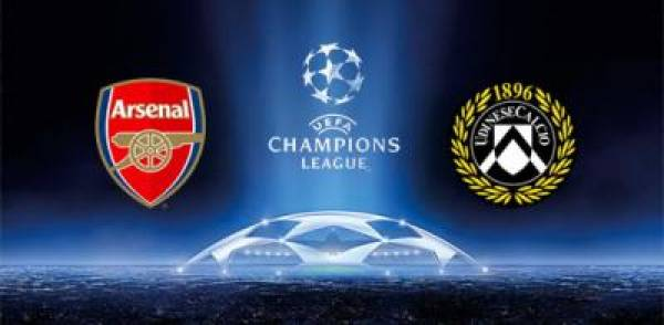 Arsenal v Udinese Champions League Betting Odds