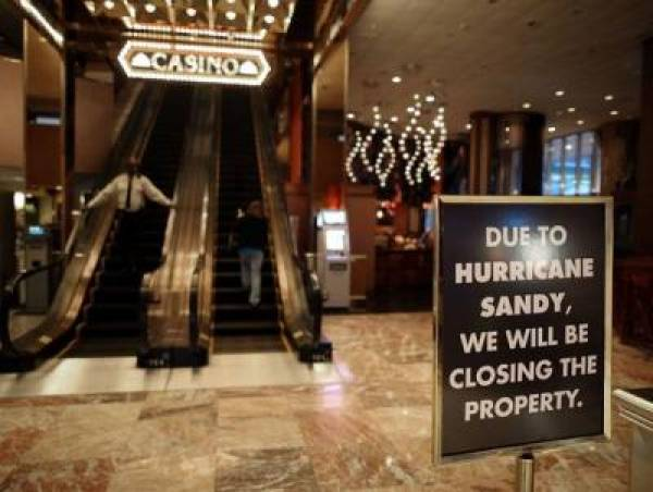 Atlantic City Casinos to Reopen Once Governor Lifts Evacuation Orders