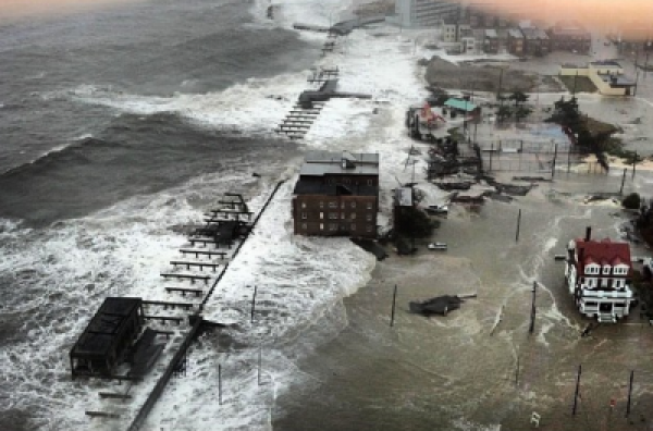 Hurricane Sandy Atlantic City Live Coverage