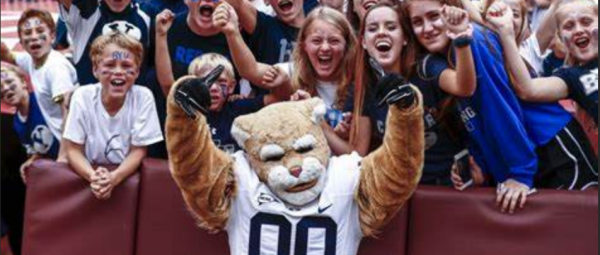 What is the Spread on the BYU Cougars vs. Utah State Week 5 Game