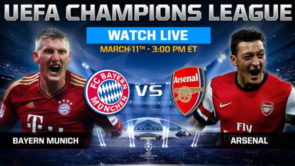 Bayern Munich v Arsenal Betting Odds – Live Streaming