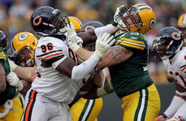 Bears-Packers Spread