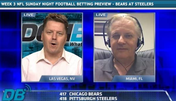 Bears-Steelers Sunday Night Football Prediction (Video)