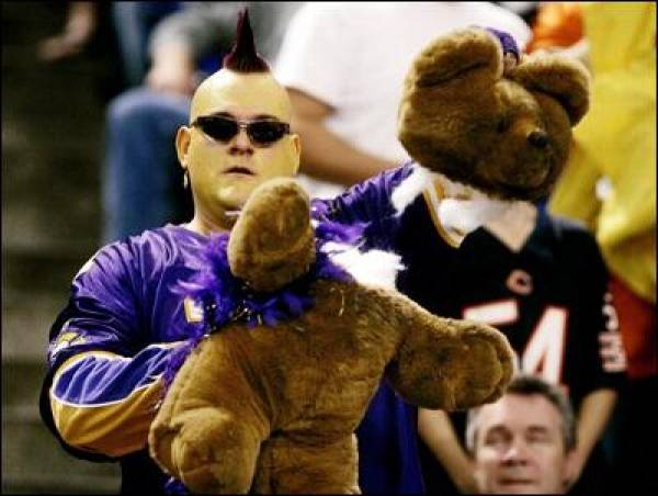 Monday Night Football Bears vs. Vikings