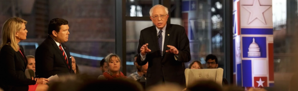 Bernie Sanders Moves to the Top of the Pack