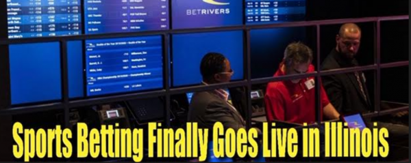 Sports Betting Launches in Illinois