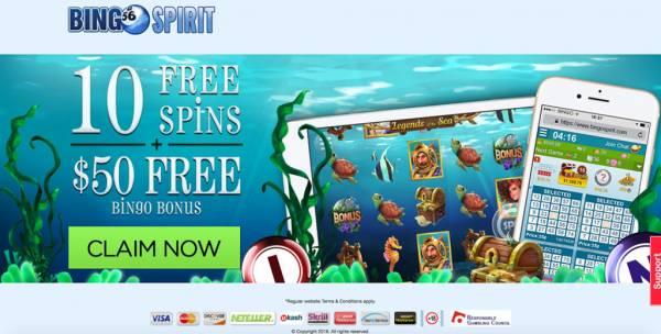 BingoSpirit.com Review l Complaints l Online Bingo From the US