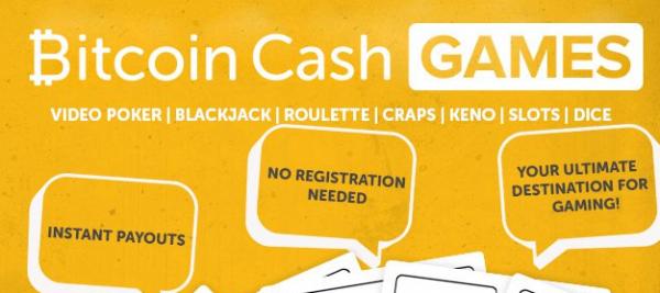 Bitcoin Cash Games Introduced