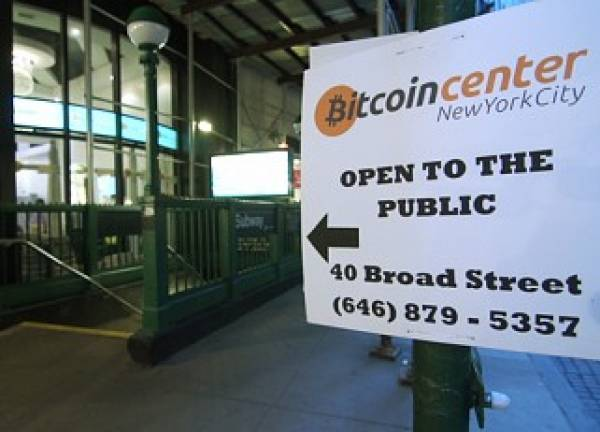 Satoshi Square Becomes Gathering Spot for Bitcoin Traders on Wall Street (Video)