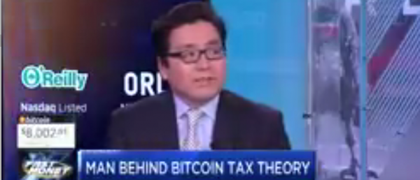 Fundstrat's Tom Lee Makes The Case For A Big Bitcoin Rally Post-Tax Day
