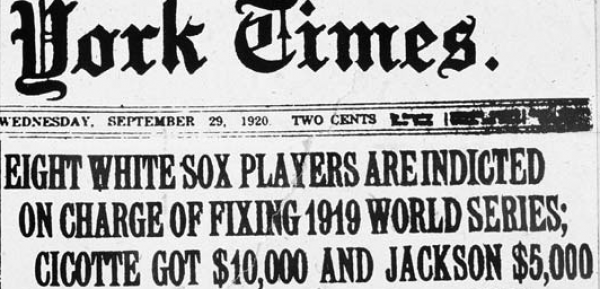 Tonight on Fox TV: Time Travelers and Bet on the Fixed Black Sox World Series
