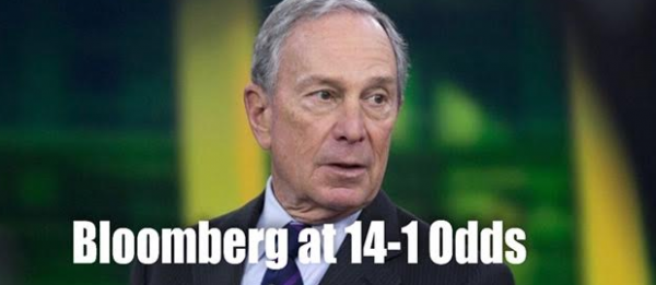 Michael Bloomberg at 14-1 Odds to be Next President