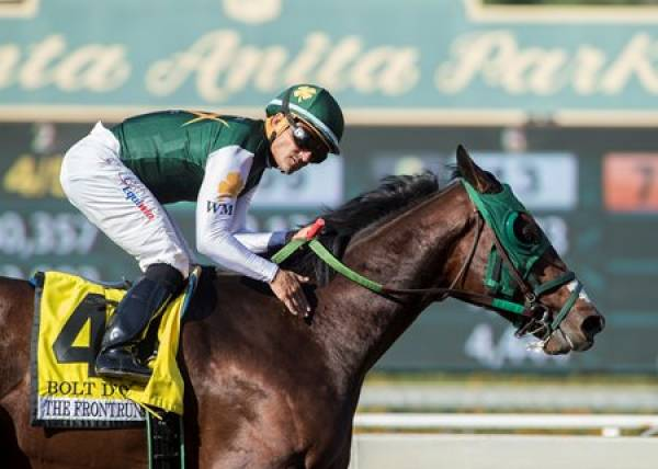 Bolt d'Oro Early Kentucky Derby Payout Odds - Cruises Through Final Workout