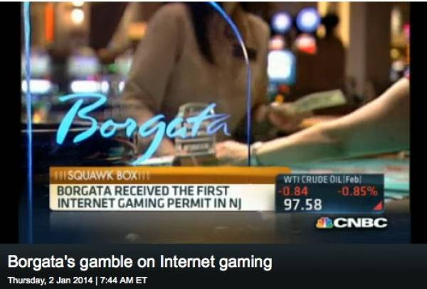 Online Gambling Exceeds Expectations for Borgata in Atlantic City (Video)