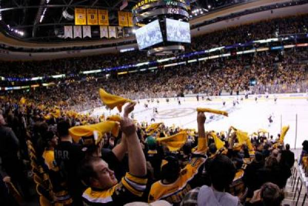 Boston Bruins Most Bet on Team of Day Following Bombings