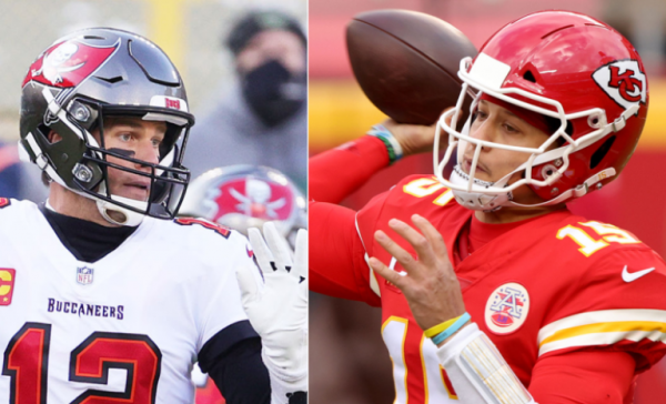 Brady vs. Mahomes - Player to Throw Most Touchdowns Prop Bet Super Bowl 2021