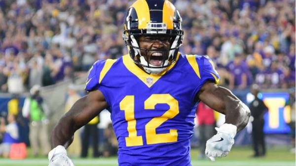 Total Receiving Yards for Brandin Cooks Prop Bet 2019 Super Bowl