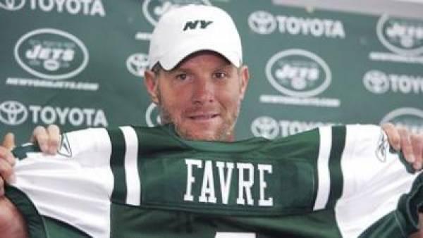 Brett Favre New York Jets