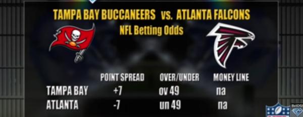 Bucs-Falcons Spread, Free Pick