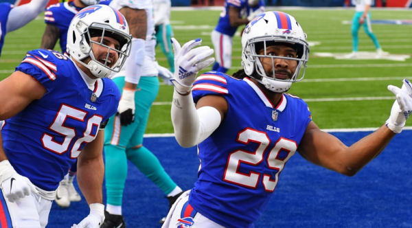 What is the Spread on the Texans vs. Bills Week 4 Game